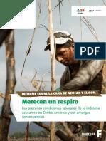 Las Precarias Condiciones Laborales de La Industria Azucarera en Centroamérica y Sus Amargas Consecuencias - Fairfood