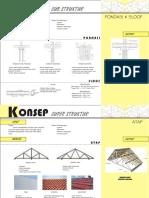 Konsep struktur MK Struktur dan Konstruksi Bangunan II