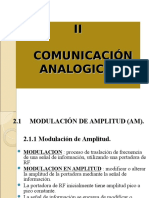 U2 - COMUNICACIÓN ANALÓGICA