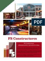 Brochure Fs Construcciones