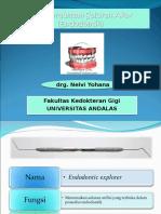 Alat Perawatan Saluran Akar (Endodontik)