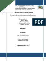 Proyecto Control de Procesos Quimicos-Reactor