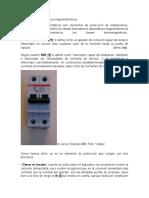 Interruptores automáticos magnetotérmicos