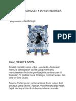 Walktrough Suikoden 4 Bahasa Indonesia