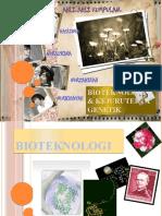 bioteknologi dan kejuruteraa genetik