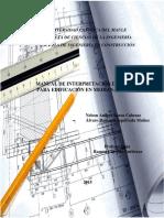 Manual Interpretacion de Planos