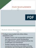 Pertemuan 3pengertian Manajemen (3)
