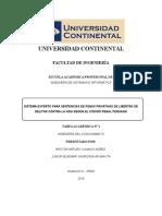 SISTEMA EXPERTO PARA SENTENCIAS DE PENAS PRIVATIVAS DE LIBERTAD DE DELITOS CONTRA LA VIDA SEGÚN EL CÓDIGO PENAL PERUANO