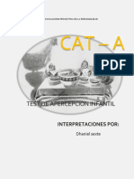 interpretacion real TEST DE APERCEPCION INFANTIL