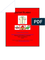 Segmentacion Silabica QUITAR SILABAS