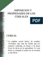 Composición de Cereales