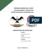 Labo de Geotecnia Informe
