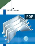 Sheet Pile Baja (JFESP)