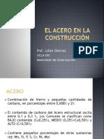 Acero en la construcción