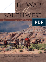 Jerry Thompson - Civil War in the Southwest