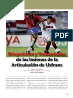 David Lopez Capape Lesiones Articulacion Lisfranc