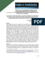 Análise Dos Motivos Causadores de Fissuras Em Edificios de Alvenaria Estrutural Com Blocos Cerâmicos Em Empreendimentos de Interesse Social de Santa Catarina
