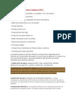 Aplicaciones de La Tubería PVC y Clasificacion de La Tuberia PVC Segun Su Uso