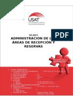 Adm. de Las Áreas de Recepción y Reservas Rosario Fernandez 2014 II Martes
