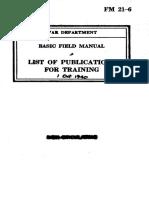 FM 21-6 - Training Publications 1940-10
