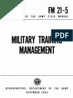 FM 21-5 - Military Training 1967