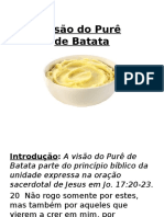 Visão Do Purê de Batatas