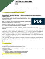Quiz y Examenes Gerencia Financiera
