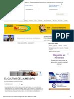 EL CULTIVO DEL ALMENDRO - Su Potencialidad en La Pampa Húmeda _ Revista Agropecuaria Conciencia Rural