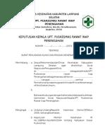 8.7.4 SK Penugasan Klinis Dan Rincian Kewenangan Klinis