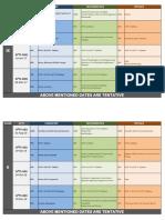 Aiits Schedule 2016 17 for Class Ix x Xi Xii