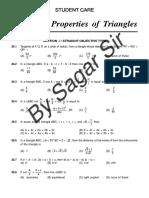 Solution of Triangle Copyright Sagar Sir