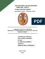 Monografia Para Derecho Penal Comparado