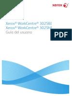 WorkCentre 3025 UG ES