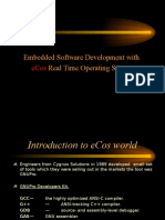 Embedded Sw Development With ECos