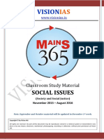 Vision 365 Social Issues