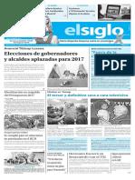 Edición Impresa El Siglo 19-10-2016