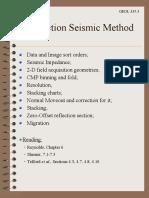 6a Reflection Seismic