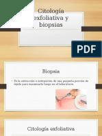 Citología Exfoliativa y Biopsias Cirugia....