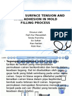 Modeling Surface Tension and Wall Adhesion in Mold
