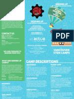 Geering Up Camps Brochure