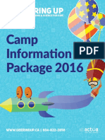 Camp Info Package