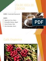 Cafe Organico Idea de Negocio