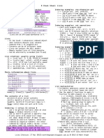 04 Basic - Lists Cheat Sheet