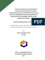 Laporan PKL PLN (Cover, Abstract, Daftar Isi, Ucapan Terma Ksh)