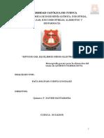 Tesisi Estudio Del Equilibrio Hidro-electrolítico