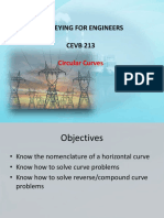 7. Circular Curves