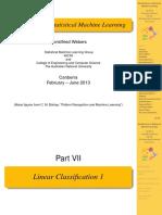 07 Linear Classification 1