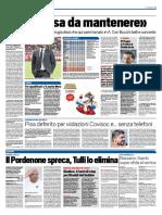 TuttoSport 19-10-2016 - Calcio Lega Pro