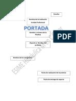 Formato de Reporte de Prácticas ESIME Feb 2016