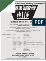 Set Captive Free Prison Conference